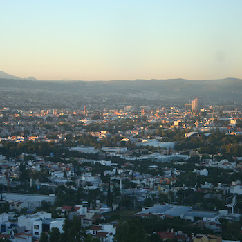 View of Queretaro city