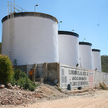 Water Tanks At San Martin