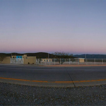 Panoramic view of Altiplano from the highway.